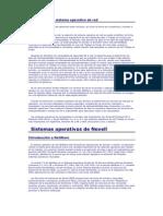 Selección de un sistema operativo de red