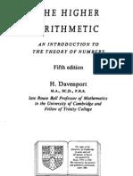 Harold Davenport - The Higher Arithmetic