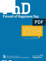 Pursuit of Happiness Day (Phd) - Teach-In