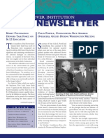 Hoover Institution Newsletter - Spring 2002
