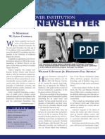 Hoover Institution Newsletter -Winter 2002