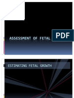 20471216 Assessment of Fetal Growth