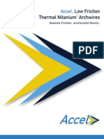Accel™ Low Friction Thermal Nitanium® Archwires