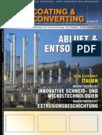 Lösemittel Rückgewinnungs systemen, Aktivkohle, Desorption mit Inertgas - DEC IMPIANTI