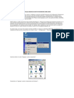 Instalar Servicio Dhcp en Windows 2000-2003