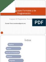 Lenguajes de Programacion y Paradigm As Del Lenguaje