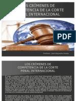 JOSE ALEJANDRO ARZOLA ISAAC.- LOS CRÍMENES DE COMPETENCIA DE LA CORTE PENAL INTERNACIONAL.