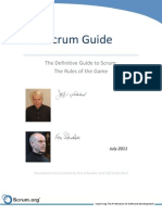 Scrum Guide - 2011