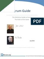 Scrum Guide - 2011
