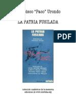 8943193 Francisco Paco Urondo La Patria Fusilada