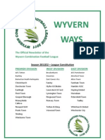 Wyvern Newsletter 1