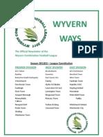 Wyvern Newsletter 1