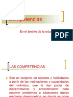B) Competencias educativas