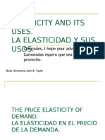Elasticity and Its Uses