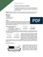 Práctica 2 Uso del Osciloscopio y Generador de señales