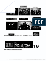 Metal Bulletin zine # 16