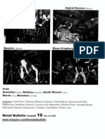 Metal Bulletin zine # 19