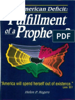 The American Deficit - Fulfillment of a Prophecy