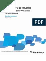 Benutzerhandbuch - Bold 9900