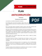 Plan Anticorrupción - Ricardo Alfonsín 2011