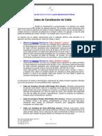 Métodos de Canalización de Cable