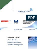 Presentación Axentria Consulting Group