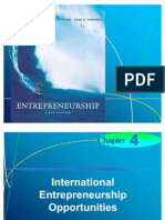 Chapter 4 - International Entrepreneurship Opportunities