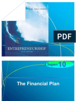 Chapter 10 - The Financial Plan