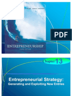 Chapter 13 - Entrepreneurial Strategy