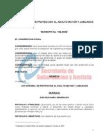 Ley Integral de Protección al Adulto Mayor y Jubilados