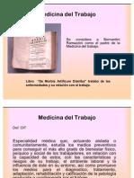 Medicina del Trabajo presentación