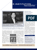 Hoover Institution Newsletter - Spring 2005