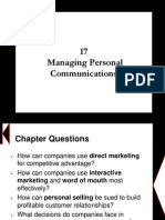 Chapter 17 - Managing Personal Communications