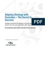 Aligning Strategy With Execution - The Secret to Success