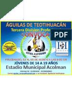 Club América Acolman Convoca
