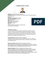 Curriculum Vitae Jesus Juarez