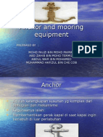 Anchor and Moring Equipment