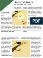 d1ec7534709 La Zorra y El Cuervo - The Fox and the Crow