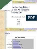 Enquête sur les Conduites Addictives des Adolescents Polynésiens(résumé)