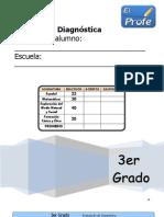 3 grado Diagnostico