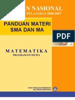 Panduan Soal UN 2006-2007