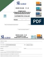 Cuadernillo de Encuestas Consulta Externa