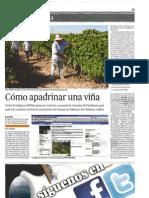 """""""Sigue tu cepa"""" de Vinos Ecológicos Robles en El Día de Córdoba"""