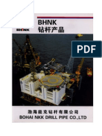 BHNK Drill Pipe Catalog