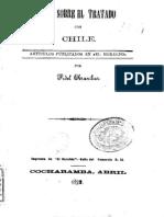 Algo sobre el tratado con Chile. Artículos publicados en ''El Heraldo''. (1892)