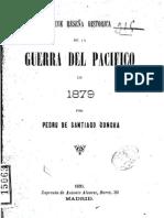 Breve reseña histórica de la Guerra del Pacífico en 1879. (1899)