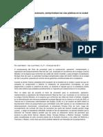 Reportaje Sobre Privatizacion de Las Vías Públicas en San Luis Potosí.