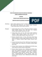 Kepmenkes 290 Tahun 2008 - Persetujuan Tindakan Kedokteran