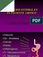 15. N. Enteral en paciente crítico