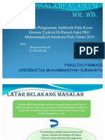 Ppt Demam Typoid
